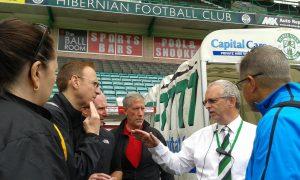 Leadership Experiences NJSACOP at Hibs FC
