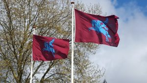 Battle for Arnhem bridge Flags