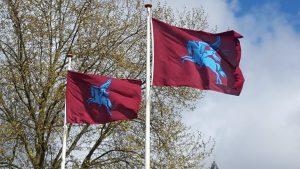 Battle for Arnhem bridge Flags