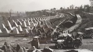 Dragons Teeth along the Siegfried Line