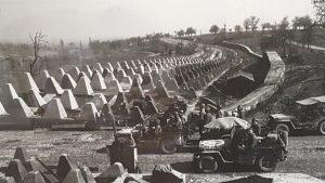 Dragons Teeth along the Siegfried Line